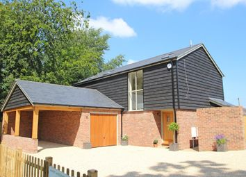 Thumbnail 3 bed detached house for sale in Church Lane, New Milton