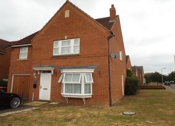 Thumbnail 1 bed property to rent in Croyland Drive, Elstow, Bedford