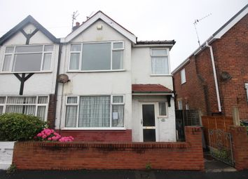 Thumbnail 3 bed semi-detached house for sale in Hollywood Avenue, Blackpool