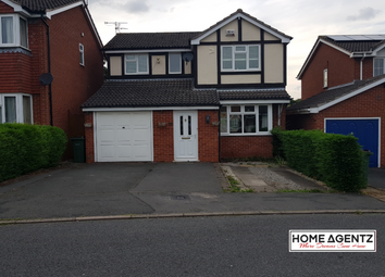Thumbnail 4 bed detached house to rent in Newby Gardens, Oadby, Leicester