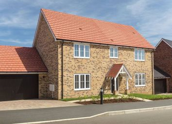 "Thumbnail 4 bedroom detached house for sale in ""The Ashdon"" at Bury Water Lane, Newport, Saffron Walden"