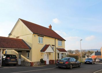 Thumbnail 4 bed detached house for sale in Churchills Rise, Hemyock, Devon