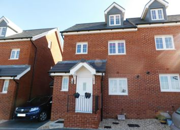Thumbnail 3 bed town house for sale in Charter Road, Axminster