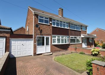 Thumbnail 3 bed semi-detached house for sale in Lambourn Avenue, Widnes, Cheshire