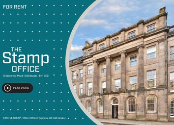 Thumbnail Office to let in 10-14 Waterloo Place, Edinburgh, Scotland