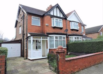 Thumbnail 3 bed semi-detached house for sale in Austin Grove, Burnage, Manchester