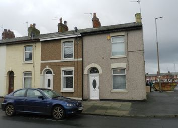Thumbnail 2 bed end terrace house to rent in Poulton Street, Fleetwood, Lancashire