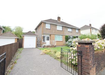 Thumbnail 3 bed semi-detached house for sale in Western Avenue, Newport