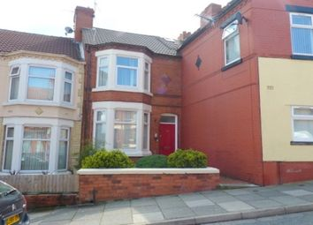 Thumbnail 3 bed terraced house to rent in Town Road, Tranmere, Birkenhead