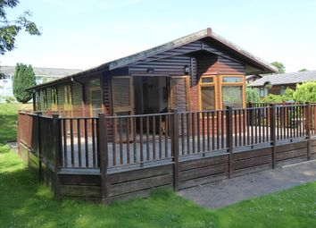 Thumbnail 3 bed mobile/park home for sale in Blossom Hill Park, Louise Way, Dunkeswell, Honiton, Devon
