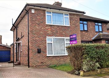 Thumbnail 3 bed semi-detached house for sale in Chalfont Drive, Gillingham