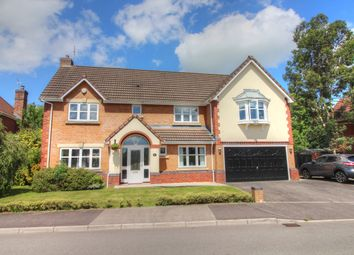 Thumbnail 5 bed detached house for sale in Silure Way, Langstone, Newport