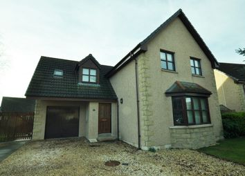 Thumbnail 4 bed detached house for sale in Knockomie Rise, Forres