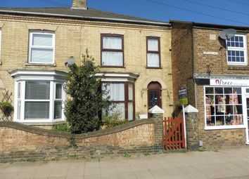 Thumbnail 3 bedroom terraced house for sale in Broad Street, Whittlesey, Peterborough