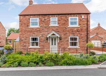 Thumbnail 4 bed detached house for sale in Thompson Garth, Stillington, York