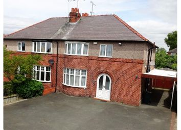 Thumbnail 3 bed semi-detached house for sale in Whitchurch Road, Chester