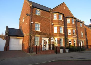 Thumbnail 5 bed semi-detached house for sale in Barmoor Drive, Great Park, Newcastle Upon Tyne