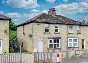 Thumbnail 2 bed semi-detached house for sale in High Street, Offord Cluny, St. Neots