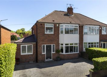 Thumbnail 4 bed semi-detached house for sale in Gainsborough Avenue, Leeds, West Yorkshire