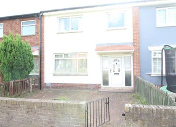 Thumbnail 3 bed terraced house for sale in Ashbourne Road, Jarrow