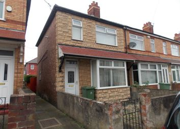 Thumbnail 3 bed end terrace house for sale in Wall Street, Grimsby