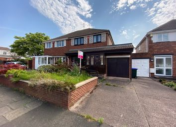 Thumbnail 3 bed semi-detached house for sale in Woodland Grove, Great Barr, Birmingham