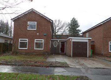 Thumbnail 3 bed detached house for sale in Patch Croft, Peel Hall, Manchester, Greater Manchester