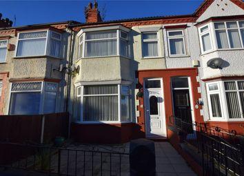 Thumbnail 3 bed terraced house for sale in Gorsefield Road, Prenton, Merseyside