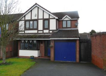 Thumbnail 4 bed detached house for sale in Smalley Drive, Oakwood, Derby, Derbyshire