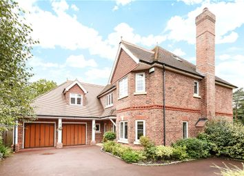 Thumbnail 7 bed detached house for sale in Finchampstead Road, Finchampstead, Wokingham