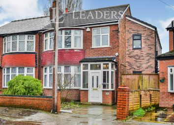 Thumbnail 4 bedroom semi-detached house to rent in Bedford Road, Firswood, Manchester