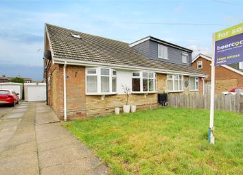 Thumbnail 3 bed bungalow for sale in Summergangs Drive, Thorngumbald, Hull, East Yorkshire