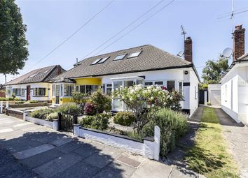 Thumbnail 3 bed bungalow for sale in Rosecroft Gardens, Twickenham