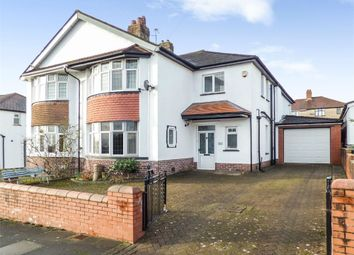 Thumbnail 3 bed semi-detached house for sale in Barons Court Road, Penylan, Cardiff, South Glamorgan