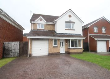 Thumbnail 3 bed detached house for sale in Skiplam Close, Hemlington, Middlesbrough