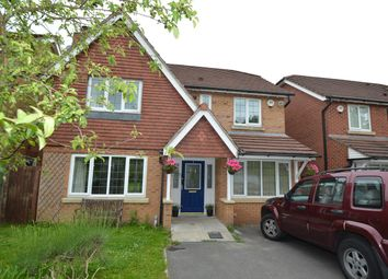 Thumbnail 4 bed detached house for sale in Newby Close, Bury