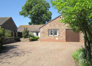 Thumbnail 4 bed bungalow for sale in Wiggonby, Wigton