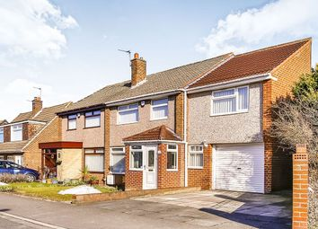 Thumbnail 4 bed semi-detached house for sale in Danelaw, Great Lumley, Chester Le Street
