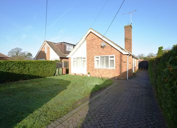 Thumbnail 3 bed detached bungalow for sale in Firacre Road, Ash Vale