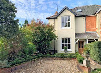 Vicarage Road, Bagshot, Surrey GU19. 4 bed semi-detached house for sale