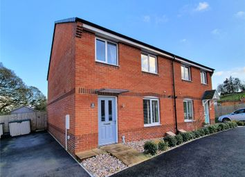 Thumbnail 4 bed semi-detached house for sale in Gale Way, Tiverton, Devon