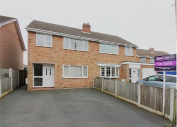 Thumbnail 3 bed semi-detached house for sale in Hollywood Drive, Bridgnorth