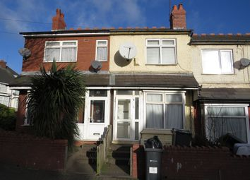 Thumbnail 3 bedroom terraced house for sale in Mary Road, Handsworth, Birmingham