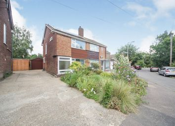 Thumbnail 2 bed semi-detached house for sale in Rosewood Close, Luton