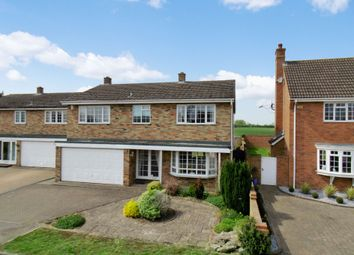 Thumbnail 4 bed detached house for sale in Brickhill Close, Blunham