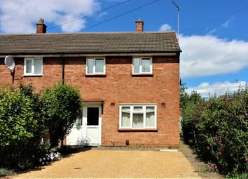 Thumbnail 2 bed end terrace house to rent in Wagstaff Close, Cambridge