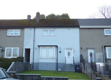 Thumbnail 1 bed terraced house for sale in Arran Avenue, Port Glasgow