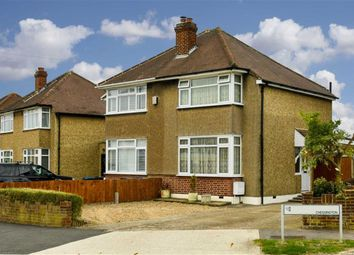 2 bed semi-detached house for sale in Oakcroft Villas, Chessington, Surrey KT9