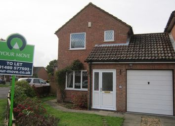 Thumbnail 3 bed detached house to rent in Ryecroft, Fareham
