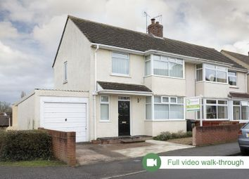 Thumbnail 3 bed semi-detached house for sale in Cory Road, Taunton